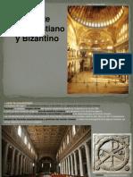 El Arte Paleocristiano y Bizantino