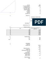 Water Treatment Design Sample Calculation