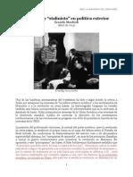 "Un Trotsky ""Stalinista"" en Política Exterior - Manfredi"