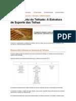 Madeiramento Do Telhado_ a Estrutura de Suporte Das Telhas