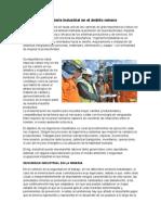 Ingeniería Industrial en El Ámbito Minero