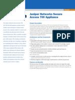 Juniper secure Access 700