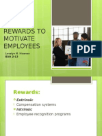 A- Using Rewards to Motivate Employees