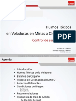 08 Humos Rojos en Voladuras a Cielo Abierto... PPT ASIEX 2012