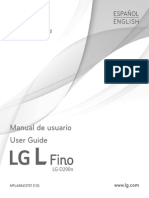 Manual Usuario Lg l Fino