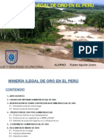 Minería Ilegal de Oro en El Perú
