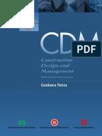 CDM Guidance Notes