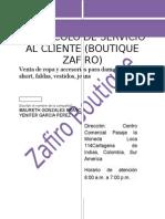 Protocolo de Servicio Al Cliente22