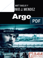 Argo - Antonio J. Mendez.epub