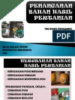 TPPHP - Penanganan Bahan Hasil Pertanian