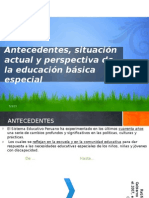 Antecedentessituacion Actual y Perspectiva