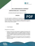 Convocatoria FESE Estudiantes 2015