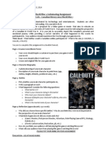 world war 2 culminating assignment and rubric