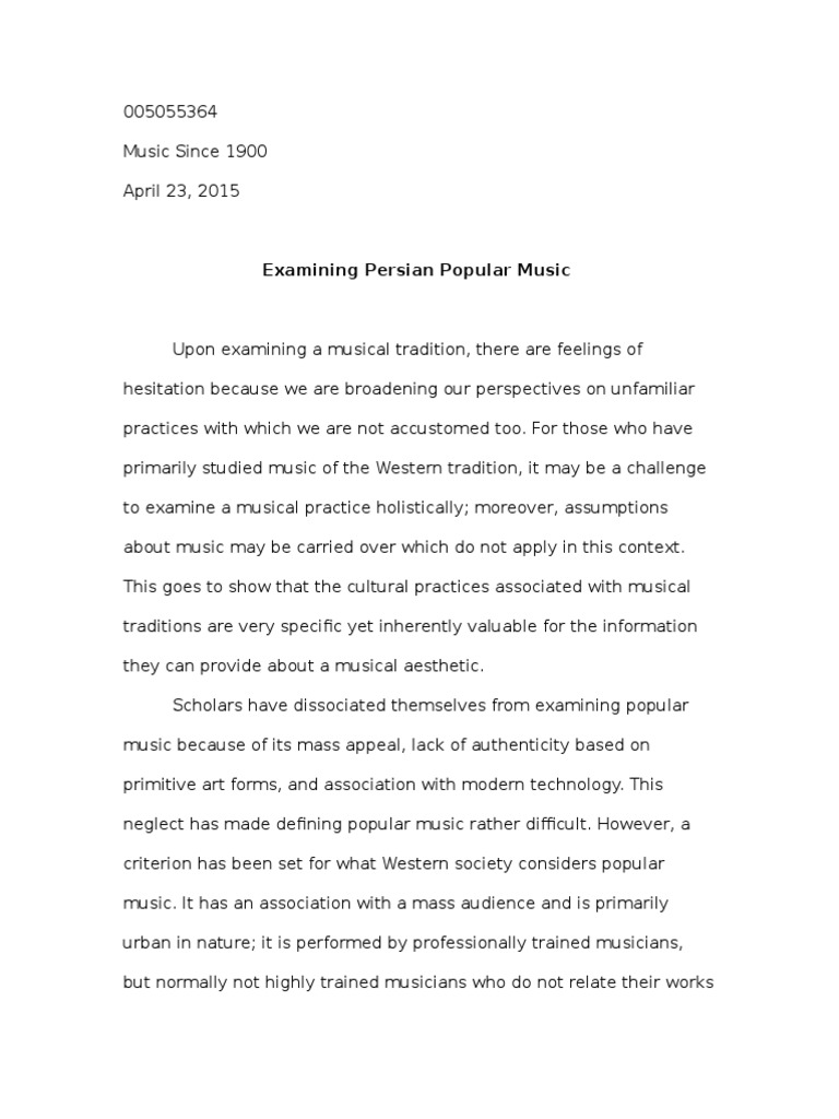 Popular music and society essay dennett brainstorms philosophical essays on mind and psychology