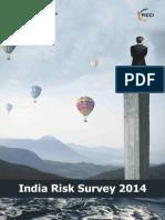 Report India Risk Survey 2014
