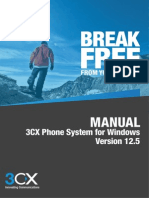 3CX Phone System Manual V12.5