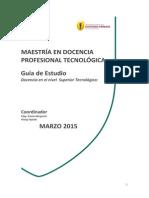 GUIA - Docencia en El Nivel Superior Tecnológico (AQP)