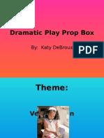 dramatic play prop box