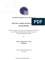 Heat Flow Analysis of Solar Assisted Drying Machine - Mohd Nor Hazlami b Nor Adnan - TJ260.M56 2008 24 Pages