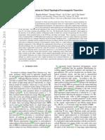Majorana Fermions in Chiral Topological Ferromagnetic Nanowires