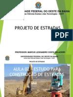 Projeto de estradas - aula 02 - ESTUDO PARA CONSTRUÇÃO DE ESTRADAS.pdf
