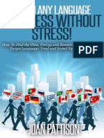 Learn Any Language - Progress Without Stress! - Joan Pattison - 2015