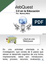 WEBQUEST LA WEB 2.0