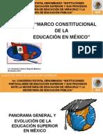 Diapositiva Sobre El Marco Constitucional de La Educación en México