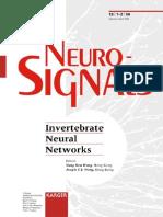 Wong Y.H. Invertebrate Neural Networks