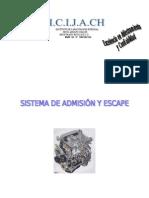Sistema de Admisión y Escape (Méc. Automotriz)