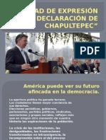 LIBERTAD DE EXPRESIÓN Y LA DECLARACIÓN DE CHAPULTEPEC.pptx