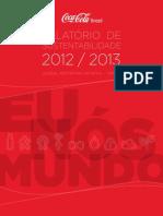 Relatório de Sustentabilidade Coca 2012 2013
