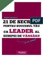 21 Secrete Sales Leadership Accelera 2014