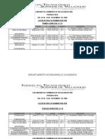 Regularacion examens itsva