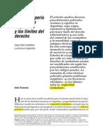 Tiscornia, entre el imperio del E de policia y los límites del Dcho.pdf