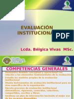 Evaluación Institucional Tema 1