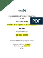 Informe de Laboratorio (Formato - V1.0)