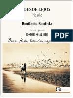 DESDE LEJOS. Pasillo. Bonifacio Bautista. Transc. piano Gerardo Betancourt.