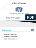 General Electric Management Analysis