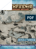 Pathfinder Adventure Path - Reign of Winter - Map Folio