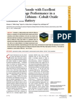 Germanium Anode with Excellent Lithium Storage Performance in a Germanium/LithiumCobalt Oxide Lithium-Ion Battery
