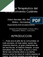 PARACAS 1 Y 2 DOM3 12.00 DR.bendEK RADLA LIMA 2015 Abordaje Terapéutico Del Envejecimiento Cutaneo