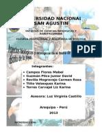 ASPECTOS BIOLOGICOS Y ECOLOGICOS DE LA FAUNA  DE VERTEBRADOS DEL DISTRITO DE LA JOYA