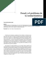 Freud y El Problema De La Verdad Histórica-2039624