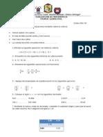 Evaluación Primer Quimestre VVC.