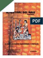 Recetario Festival Del Maíz