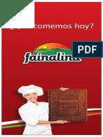 recetario fainalind