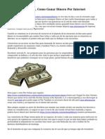 Encuestas Pagadas, Como Ganar Dinero Por Internet