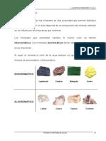 Minerales II