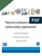 6. Historia de La Tributacion